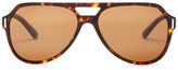 Dolce & Gabbana Men's Aviator Acetate Frame Sunglasses