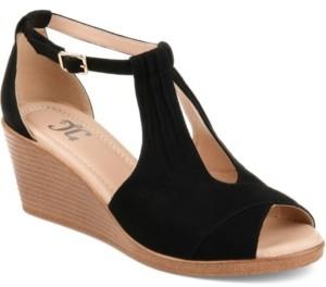 Journee Collection Women's Comfort Kedzie Wedges Women's Shoes