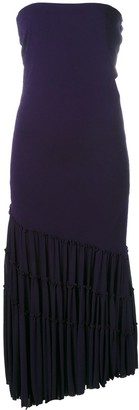 Jean Paul Gaultier Pre Owned maxi ruffled dress