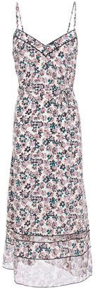 Rag & Bone Floral-print Silk Crepe De Chine Midi Slip Dress
