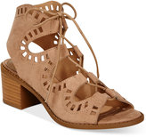 Esprit Lotus Block-Heel Lace-Up Sandals