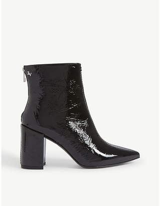 Zadig & Voltaire ZADIG&VOLTAIRE Glimmer Vernis patent leather ankle boots