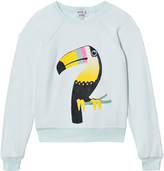 Wildfox Couture Mint Bird of Paradise Sweater