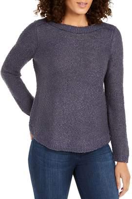 INC International Concepts Petite Shine Pullover Sweater