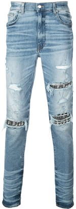 Amiri Music Note Patch Jeans