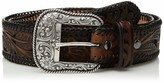 Ariat Unisex-Adult's Floral Inlay Edge Laced Belt
