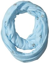 Pure Style Girlfriends Women's Dog Embossed Infinity Scarf