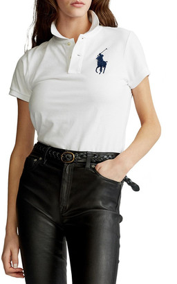 Polo Ralph Lauren Skinny Fit Big Pony Polo Shirt