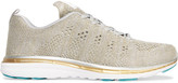 Athletic Propulsion Labs - Techloom Pro Mesh Sneakers - Gold