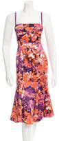 Roberto Cavalli Printed Bustier Dress w/ Tags