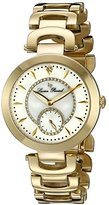 Lucien Piccard Women's LP-10268-YG-22 Casablanca Analog Display Quartz Gold Watch