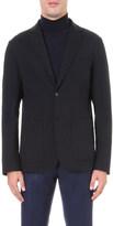 Z Zegna Single-breasted jersey jacket