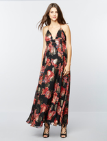A Pea in the Pod Free People Shadows Printed Maternity Gown