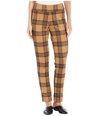 Krazy Larry Ultra Suede Printed Pants (Plaid) Women's Casual Pants