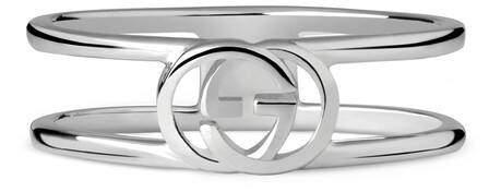 Gucci Interlocking G thin open band