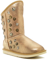 Australia Luxe Collective Angel Short Studded Metallic Genuine Shearling Boot