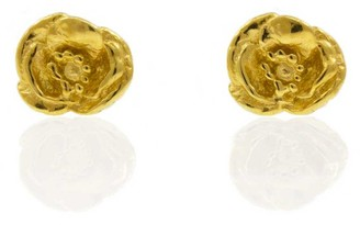 Lee Renee Poppy Earrings - Gold