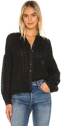 Free People Maddison Eyelet Blouse