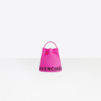 Balenciaga Wheel XS Drawstring Bucket