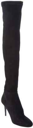 Jimmy Choo Toni 90 Stretch Suede Over-The-Knee Boot