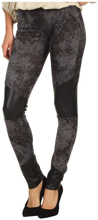 Type Z Via Washed Out Legging (Grey) - Apparel