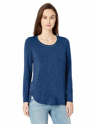 Tribal Women's L/S Top with Chest Pocket