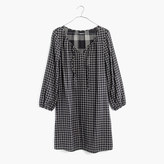 Madewell Signal Tunic Dress in Hayden Plaid