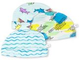 Rosie Pope Baby Babys Printed Cotton Hats- Pack of 3