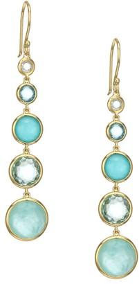Ippolita Lollipop 18K Yellow Gold & Multi-Stone Drop Earrings