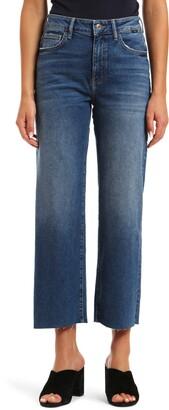Mavi Jeans Romee High Waist Crop Wide Leg Jeans