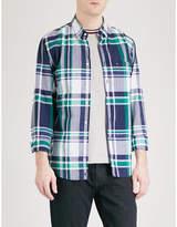 Tommy Hilfiger Kenzie Checked Regular-fit Cotton Shirt
