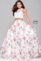 Jovani Floral Two-Piece Dress JVN41771