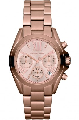 Michael Kors Ladies Bradshaw Mini Chronograph Watch MK5799