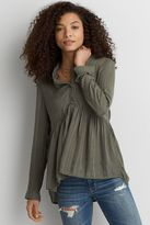 American Eagle Outfitters AE Babydoll Shirt