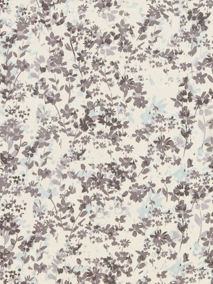 Marvic Fabrics Flower Fabric, Light Grey
