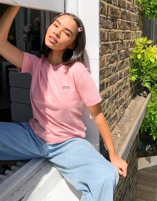 Vans Junior V Boxy t-shirt in pink