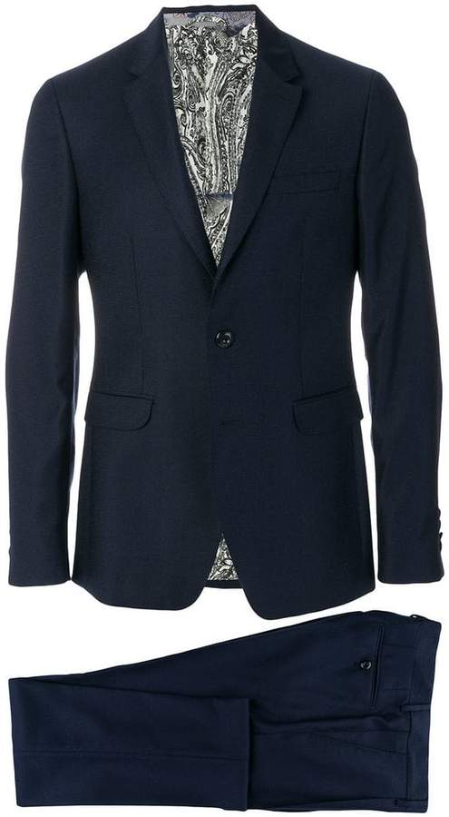 Etro two piece formal suit