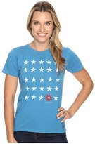 Life is Good Stars And Daisy Crusher Tee