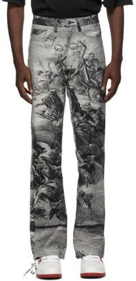 Who Decides War by MRDR BRVDO Blue Present Heaven Jeans