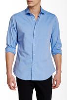Ganesh Micro Diamond Print Long Sleeve Slim Fit Shirt