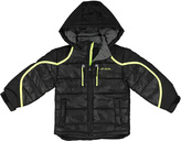 London Fog Black Puffer Coat - Boys