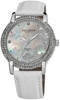 Akribos XXIV Akribos Diamond Mother of Pearl Dial Ladies Watch