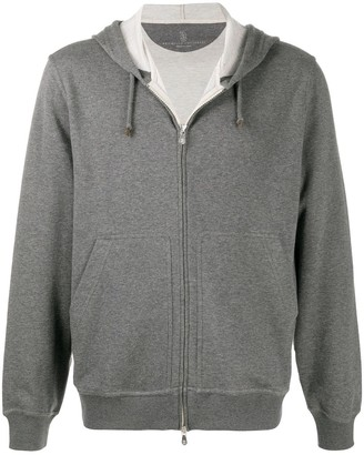 Brunello Cucinelli Fine Hooded Cardigan