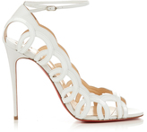 Christian Louboutin Houla Hot 100mm leather sandals