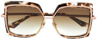 Dita Eyewear Oversized Square Sunglasses