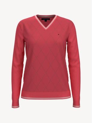 Tommy Hilfiger Essential Argyle Sweater