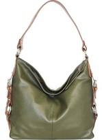 Nino Bossi Women's Violet Bloom Bucket Bag