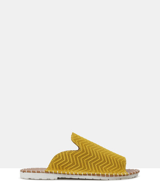 Sempre Di - Women's Yellow Flat Sandals - Lark - Size One Size, 37 at The Iconic