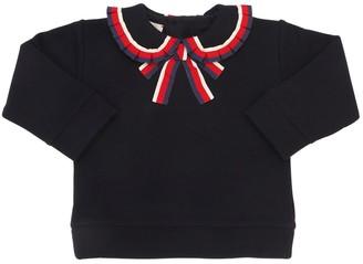 Gucci Sylvie Cotton Sweatshirt