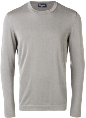 Drumohr Crew-Neck Long-Sleeved Top